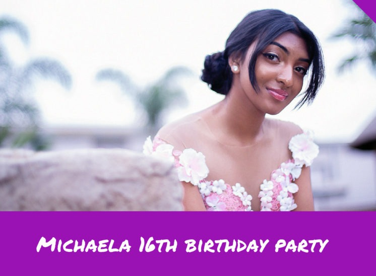 Michaela 16th birthday party Slideshow